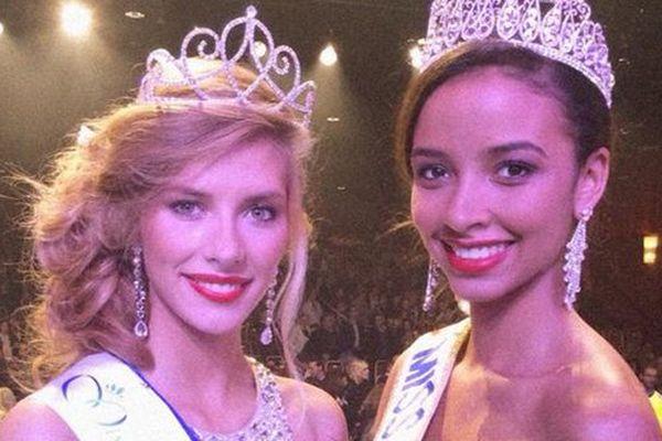 Camille Cerf, Miss Nord Pas-de-Calais et Flora Cocquerel, Miss Nord Pas-de-Calais.