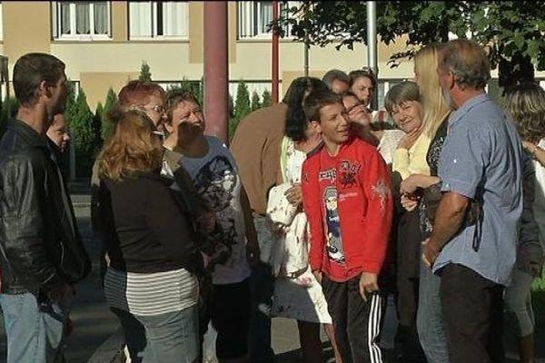 La mobilisation des parents d'élèves du quartier Voinaie à Delle
