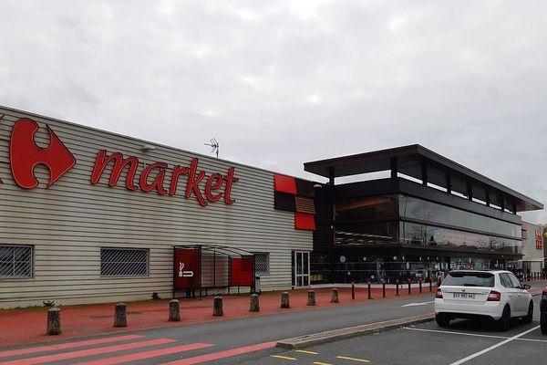 La Souterraine (23) 9 mars 2020. Ce supermarché figure sur une liste nationale de 46 magasins que l'enseigne va céder en location vente.