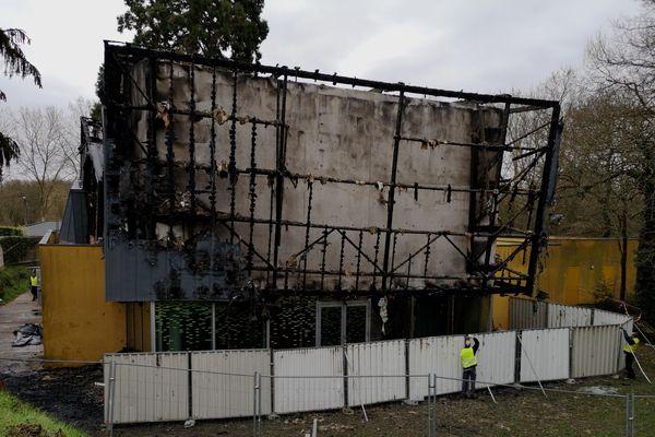 Rezé, incendie au centre socioculturel Jaunais Blordière