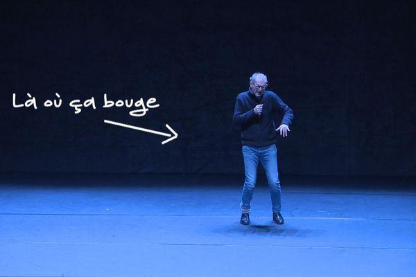 Jean Claude Gallotta, invité de la 2eme édition de Regards dansants au Trident de Cherbourg, est dans Là où ça bouge. Alors, ça bouge bien....