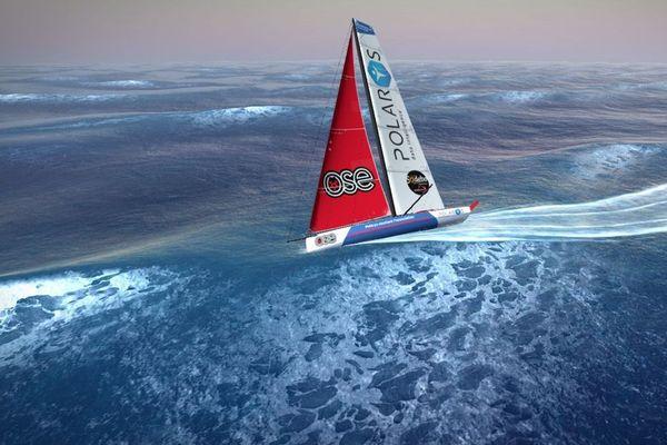 le bateau de Loïck Peyron