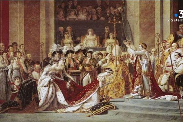 C'est dans la cathédrale Notre-Dame de Paris que Napoléon est sacré Empereur des Français le 2 décembre 1804.
