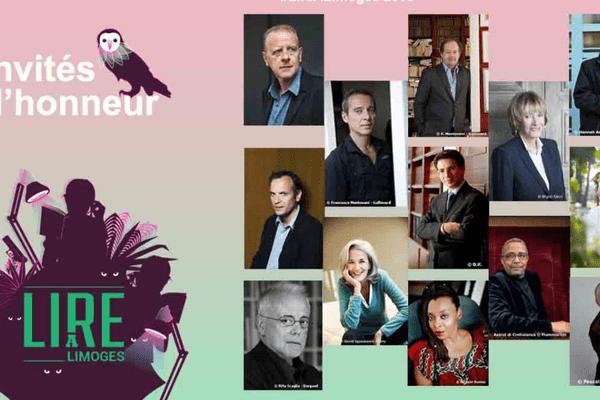 Lire à Limoges dévoile une première liste des invités de l'édition 2018 : le gotha littéraire sera présent.