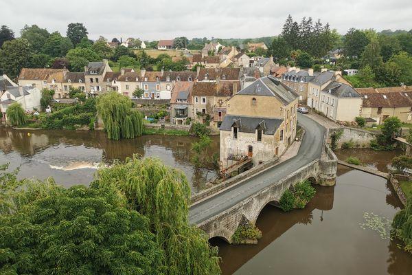 Fresnay, vu du château...c'est encore plus beau !