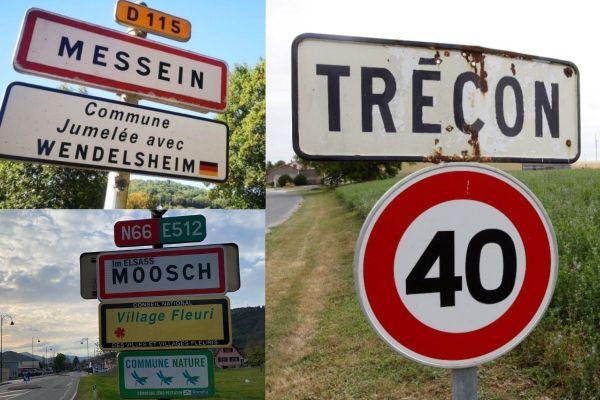 Messein, Trécon ou Moosch font partie des 250 communes françaises qui portent un nom qui prête à sourire.