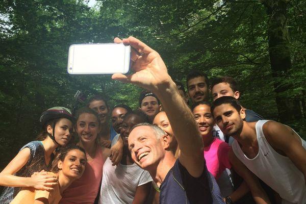 Sur les terres des champions : en route pour Rio 2016 avec Samuel Etienne