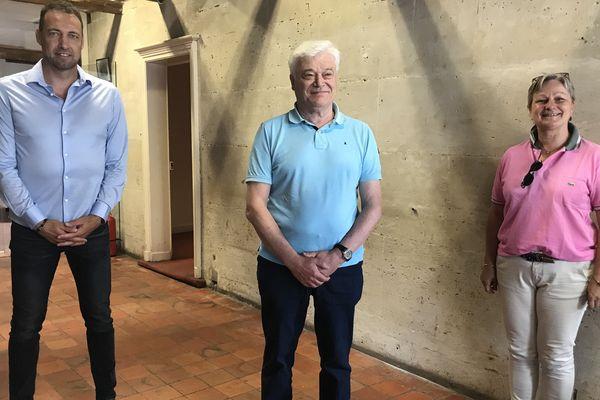 Laurent Daval, Jean-Michel Feuillet et Pascale Krebs sont désormais réunies dans la course à l'élection municipale à Saint-Dizier.