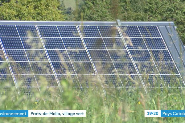 L'énergie solaire fournit 30 % des besoins du village