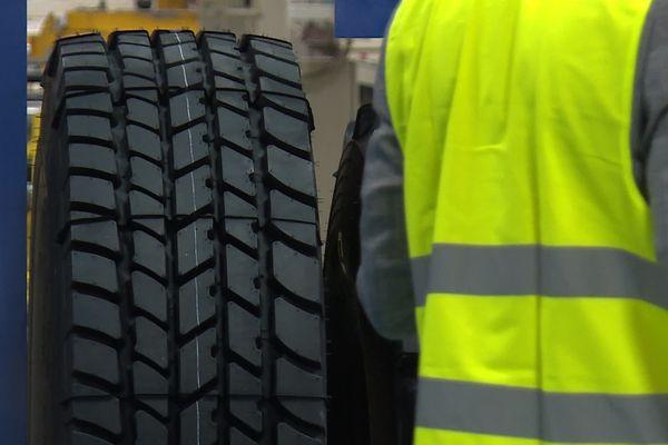 480 pneus sont produits chaque jour.