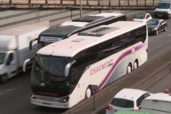 La manifestation a rassemblé 130 autocars.