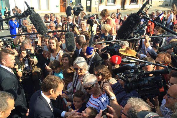 Visite présidentielle en Vendée pour inaugurer le musée Clemenceau-De Lattre