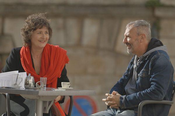 Béatrice Rouvreau et Jérôme Rouger
