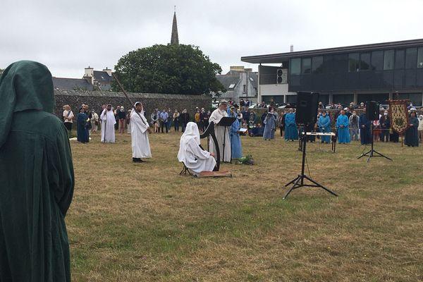 La Gorsedd des druides de Bretagne pour la première fois à Plouhinec, Cap Sizun
