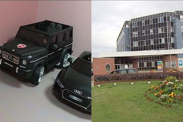 Les 2 voiturettes électriques seront officiellement remises au centre hospitalier d'Abbeville par la PEEP début octobre.