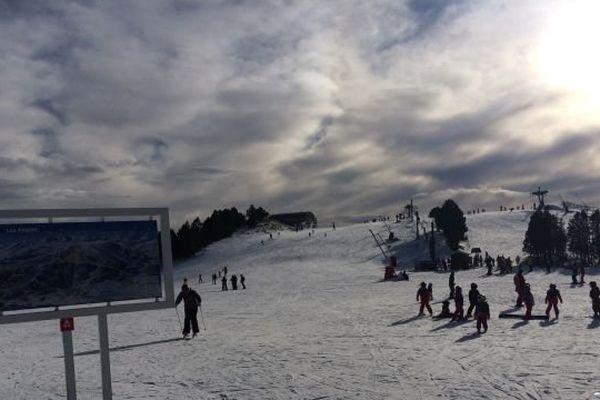 La neige devrait tomber à partir de mardi sur la station de ski des Angles, dans les Pyrénées-Orientales