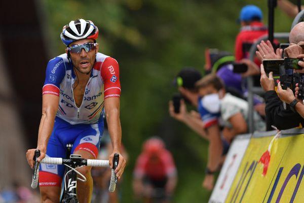 Thibaut Pinot sur le Critérium du Dauphiné 2020