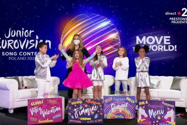Vidéo: Valentina et le triomphe français à l'Eurovision Junior 2020