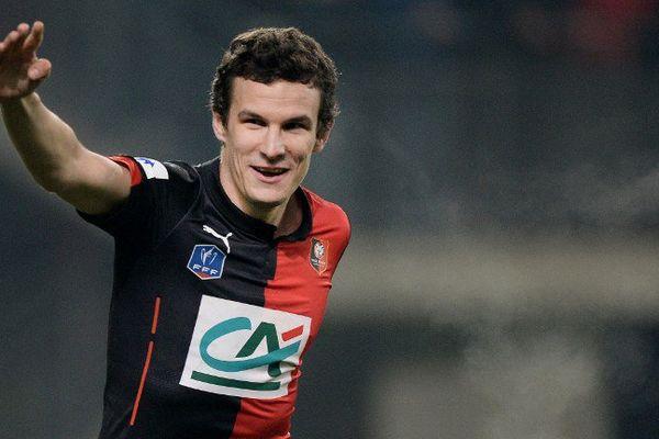 Romain Danzé est resté fidèle 18 années à son club le Stade Rennais. Ici en 2015