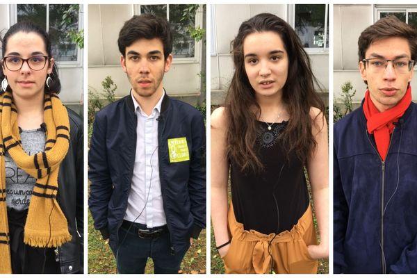 Quatre lycéens donnent leur avis sur le climat et les moyens d'agir.