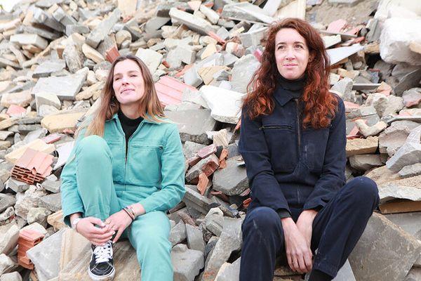 Elodie Michaud et Rébecca Fezard