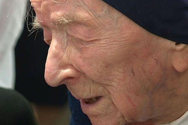 Toulon - l'Alésienne soeur André, doyenne des Français, a fêté ses 115 ans - 11 février 2019.
