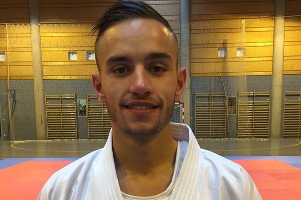 Steven Da Costa, champion du monde de karaté 2018, est originaire de Mont-Saint-Martin