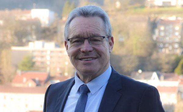 Gérard Didelot. Maire de Herserange