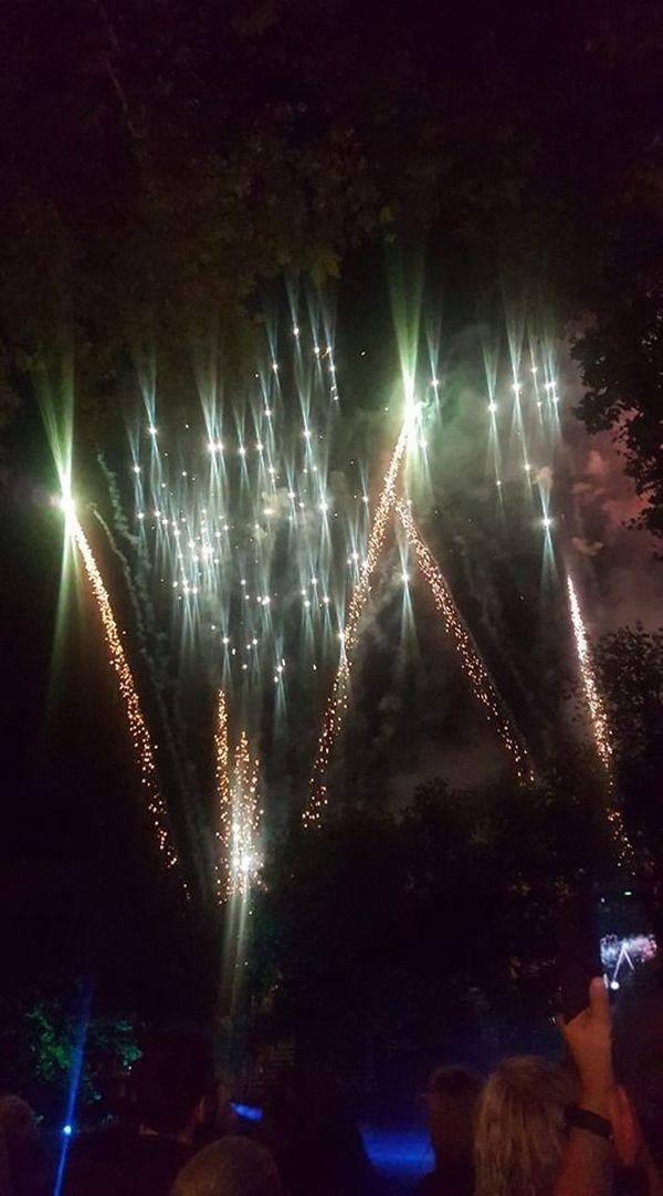 Nombreux étaient les téléphones portables à filmer le feu d'artifice de Mulhouse.