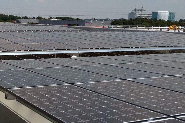 1666 panneaux solaires du MIN seront financés et gérés par un groupe de citoyens de l'agglomération nantaise