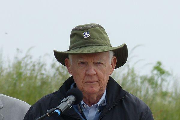 Carver McGriff, vétéran américain, 90e division d'infanterie