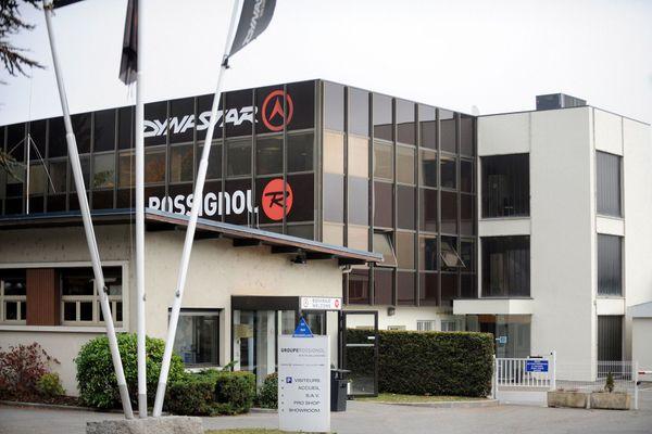 Le siège du groupe Rossignol à Sallanches en Haute-Savoie.