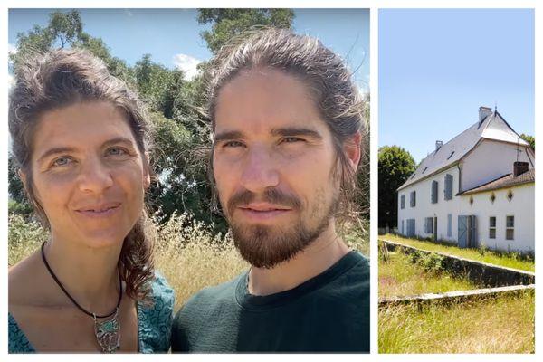 Alice Pazalmar et son compagnon Sylvain, figures du mouvement complotiste et antisystème One Nation, préparent l'acquisition de ce domaine situé dans le Lot.