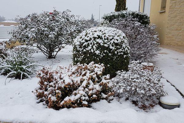 Neige à Limoges le 22.01.2019