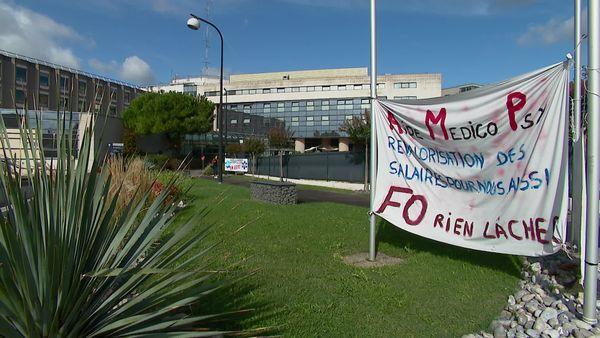À Niort, le personnel revendique salariales face à la charge de travail à laquelle ils sont confrontés.