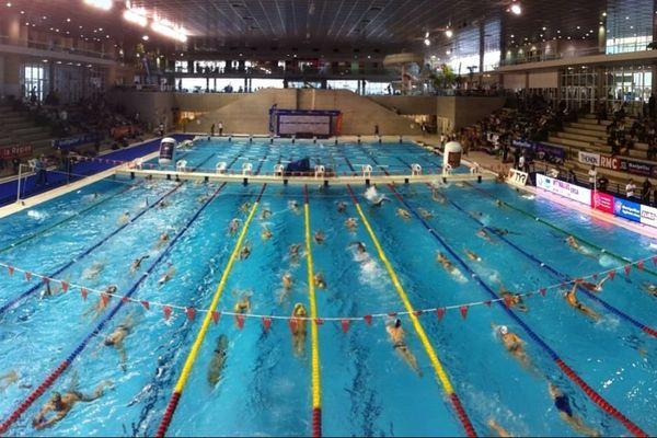 la piscine olympique d'Antigone à Montpellier
