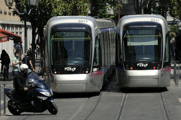 Image d'illustration du tramway de Grenoble.