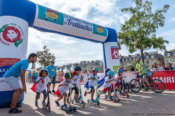 La Grande course de trottinettes a rassemblé 400 enfants en 2019 à Bordeaux