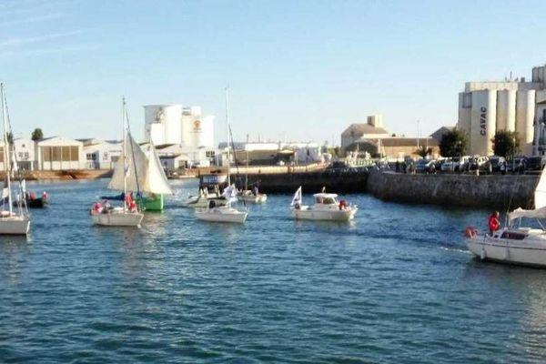Les Sables d'Olonne, 800 bateaux pour un anniversaire
