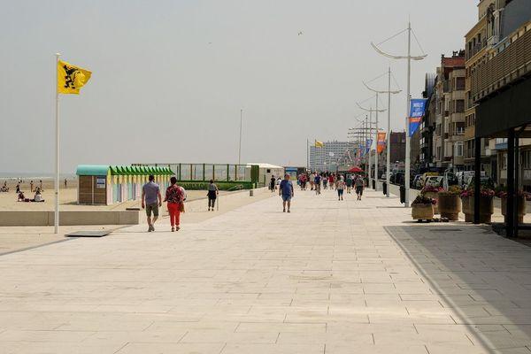 La digue de Dunkerque (juin 2019).