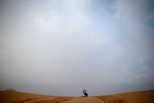 Après trois abandons en 2018, 2019 et 2020, le Français espère bien finir le Dakar cette année.