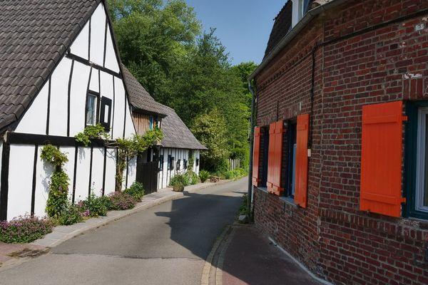 Les ruelles du village de Terdeghem