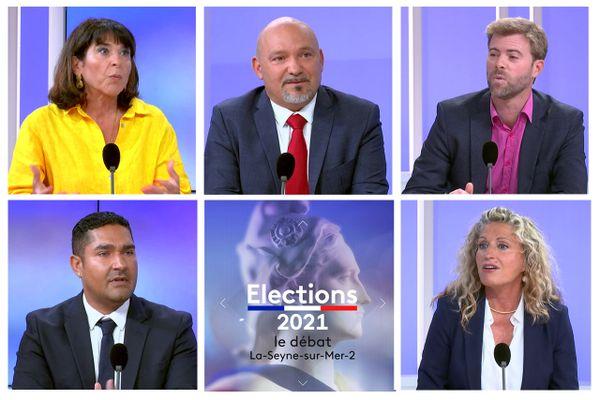 Elections départementales 2021 dans le Var, le débat pour le canton de La Seyne-sur-Mer-2