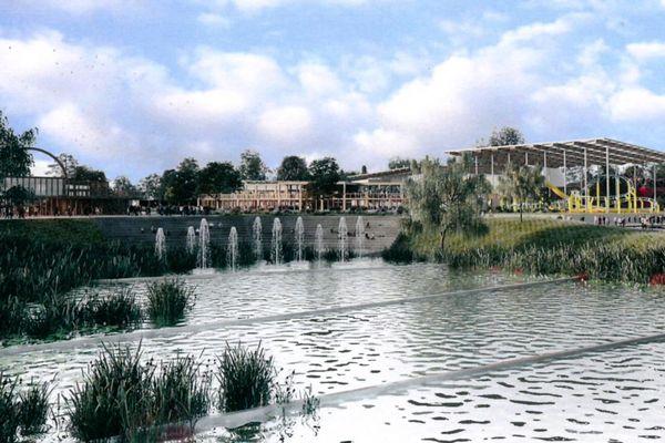 Vue virtuelle du parc Imagiland