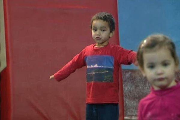 Un stage de cirque pour les 3/6 ans, à Montpellier
