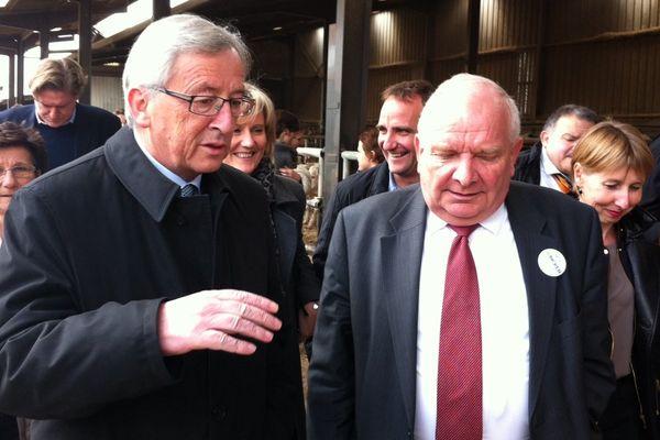 Joseph Daul et Jean-Claude Juncker