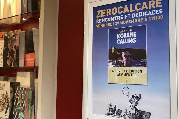 Zerocalcare, l'auteur de BD italien en dédicace à Paris