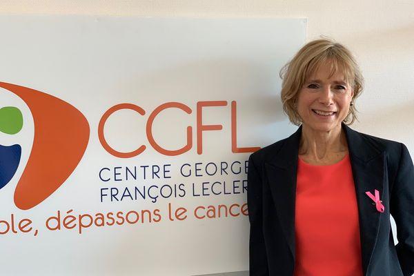 Carmen Garrido, récompensée par le grand prix de la recherche ruban rose pour ses études sur la détection précoce du cancer du sein.