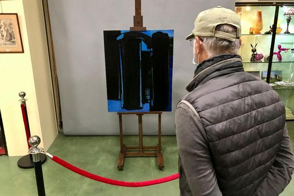 La peinture de Soulages, en vente à Montpellier, est estimée entre 500 000 et 800 000 euros - 8 mai 2021