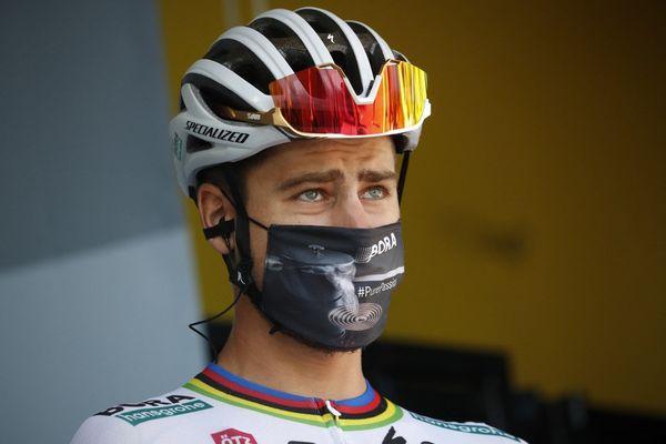 ILLUSTRATION - Peter Sagan, coureur cycliste slovaque.